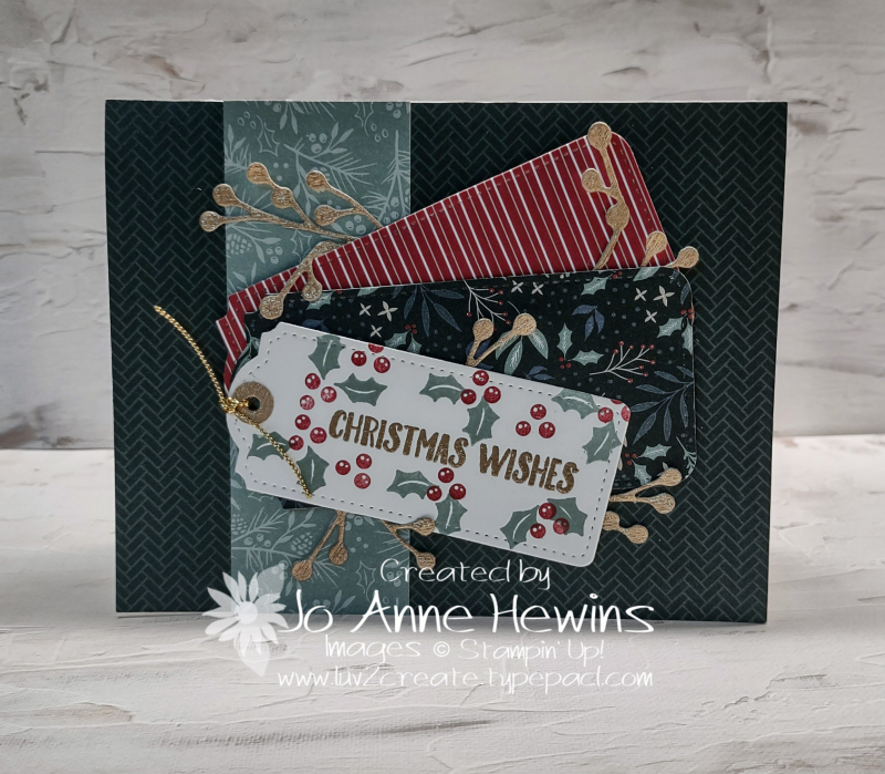 OSAT for July Christmas in July Card by Jo Anne Hewins
