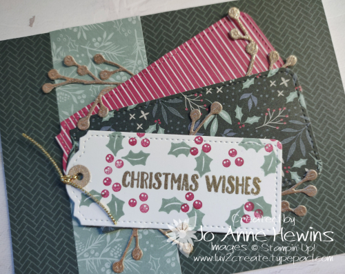 OSAT for July Christmas in July Close Up by Jo Anne Hewins