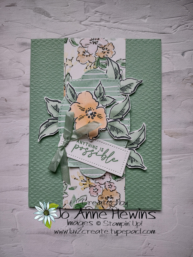 Hand Penned Card by Jo Anne Hewins