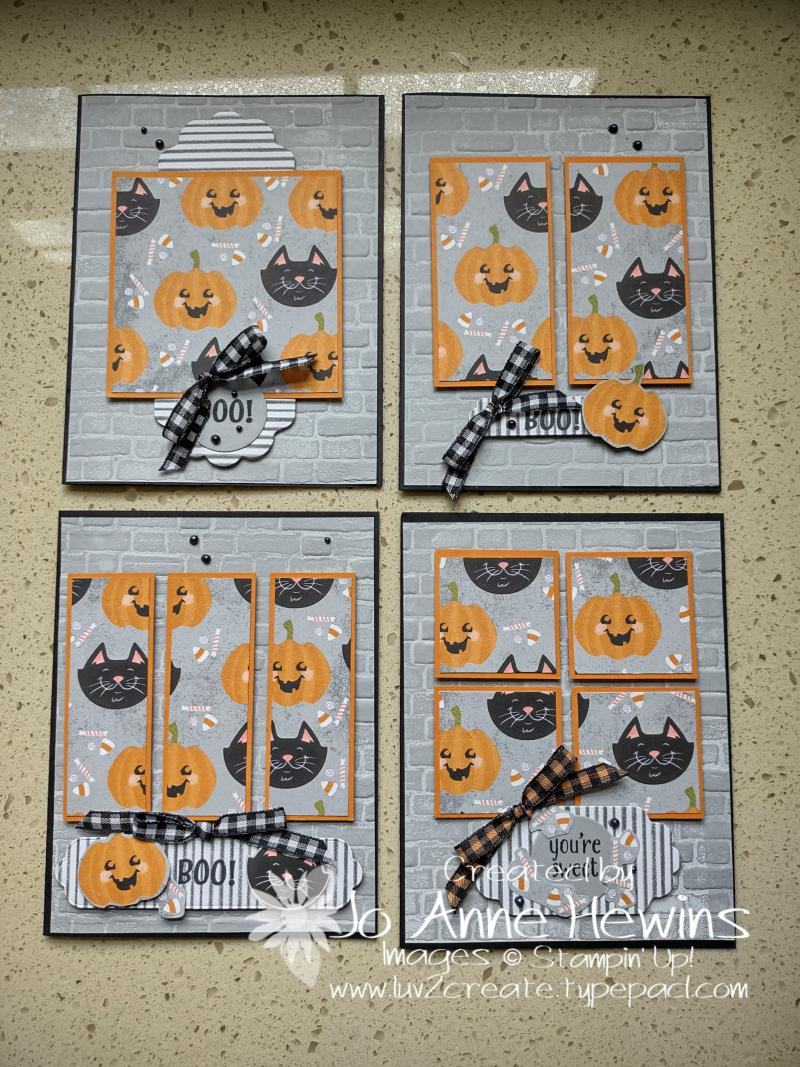 One Sheet Wonder Cute Halloween 6 x 6 by Jo Anne Hewins