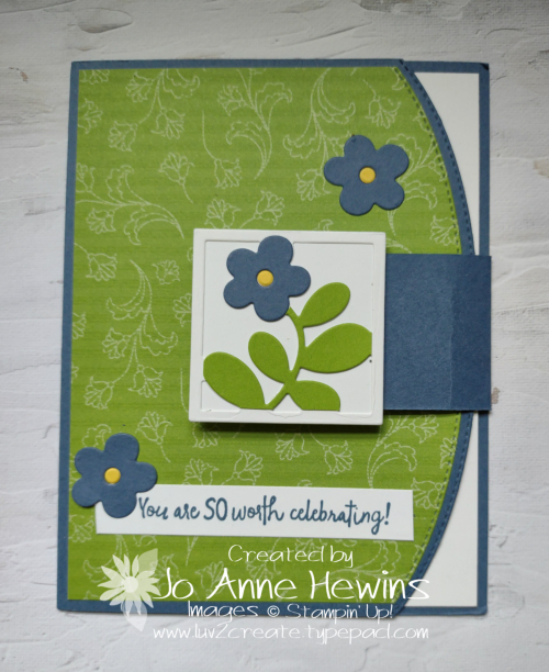 All Squared Away Fun Fold by Jo Anne Hewins