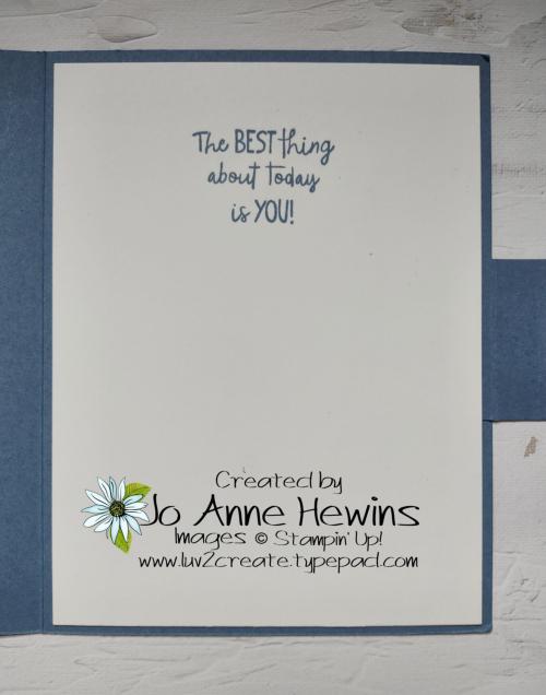 All Squared Away Fun Fold Inside by Jo Anne Hewins