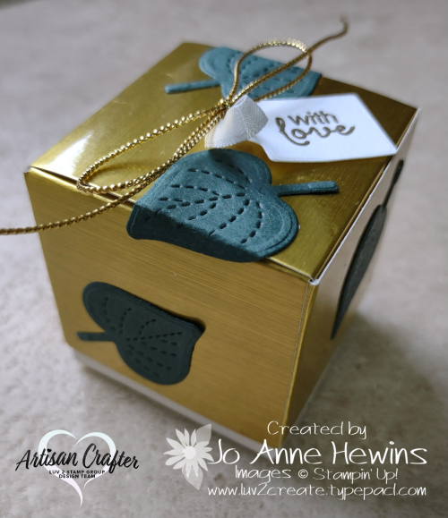 OSAT for August Siply Classic Treat Box by Jo Anne Hewins