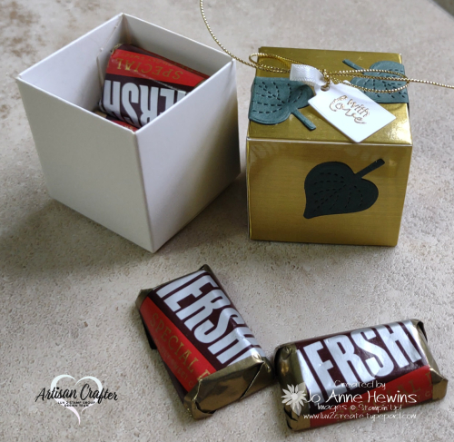 OSAT for August Treat Box Open with Candy by Jo Anne Hewins