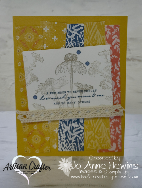 Nature's Harvest Card by Jo Anne Hewins