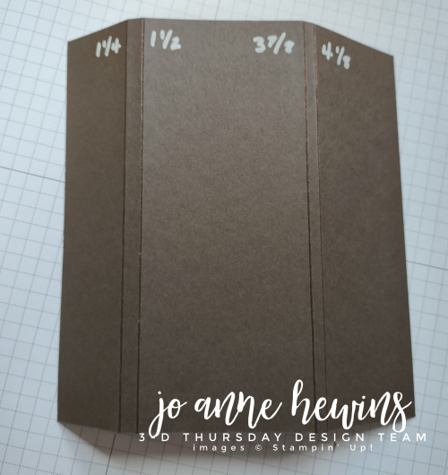 3D Thursday Chocolate Holder template by Jo Anne Hewins