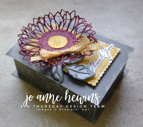 3D Thursday Tombstone Box Treat Holder by Jo Anne Hewins