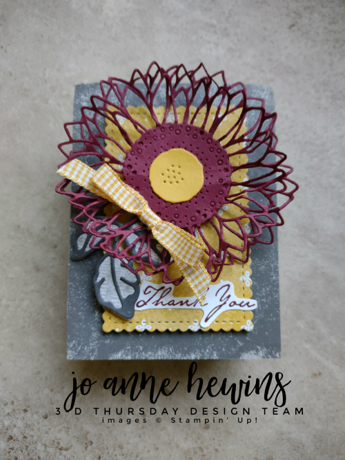 3D Thursday Tombstone Thank you Treat Box by Jo Anne Hewins